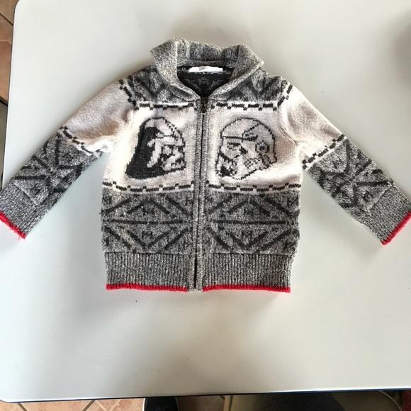 gap shirts tops star war boy sweater poshmark